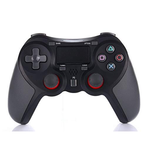 PS4 Wireless Wireless Controller für Playstation 4 Dualshock 4 mit Playstation 4 und Windows-Aktivierungstaste, Orange,Black