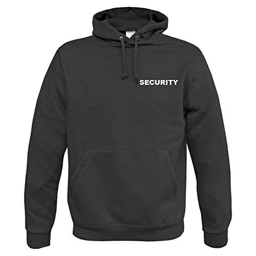 BW-ONLINE-SHOP Security Hoodie schwarz - XL