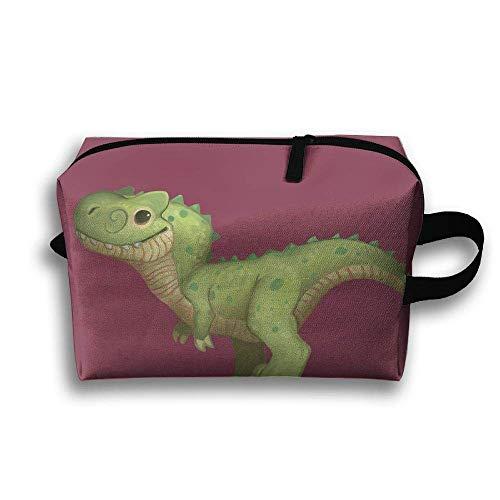Rolling Organizer Duffel (Novelty Travel Toiletry Bag Lovely Dinosaur Makeup Bag Travel Storage Bag Large Accessories Organizer for Men Women)
