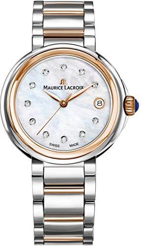 Maurice Lacroix Fiaba Round FA1007-PVP13-170-1 Orologio da polso donna con...