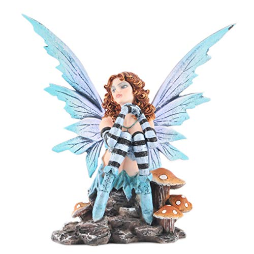 d6c817bf9 Les Tresors De Lily [Q1879] - Figurine 'Fairy Dreams' fairy on mushrooms -  15.5x13x9 cm (6.10''x5.12''x3.54'').