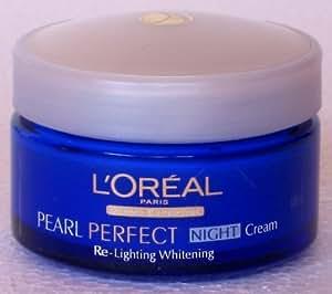L'Oreal Paris White Perfect Night Cream Transparent Rosy Whitening 50ml