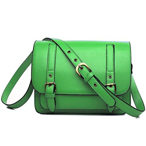 Miss Lulu, Borsa a secchiello donna Neon Green