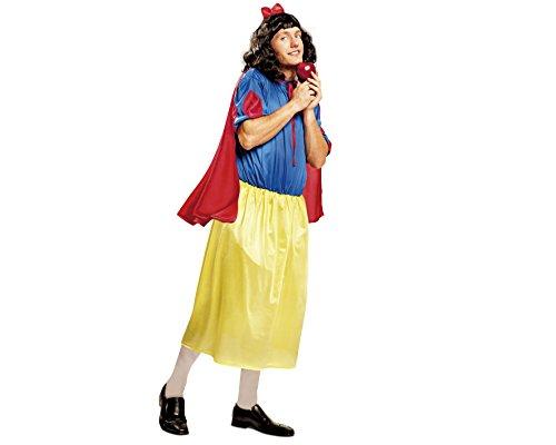 Imagen de my other me  disfraz de blancanieves para hombre, talla m l viving costumes mom01351