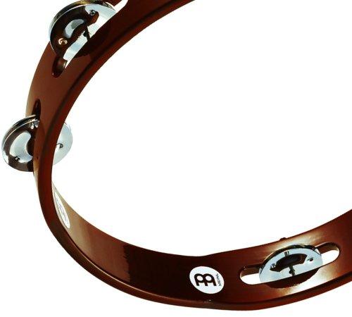 Meinl TA1AB Tambourine and Steel Jingles - African Brown