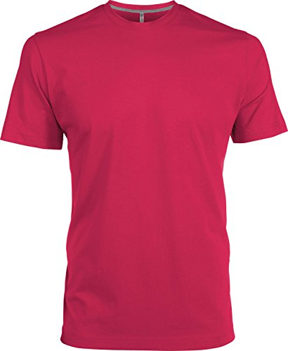 Figurbetontes T-Shirt Fuchsia