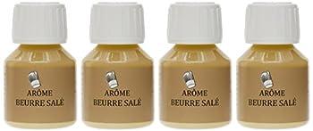 SélectArôme Arôme Beurre Salé 58 ml - Lot de 4