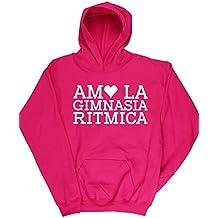 HippoWarehouse AMO LA GIMNASIA RITMICA jersey sudadera suéter derportiva unisex niños niñas