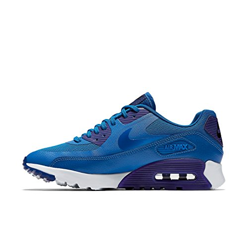 Nike W Air Max 90 Ultra Essential, Baskets Femme blue