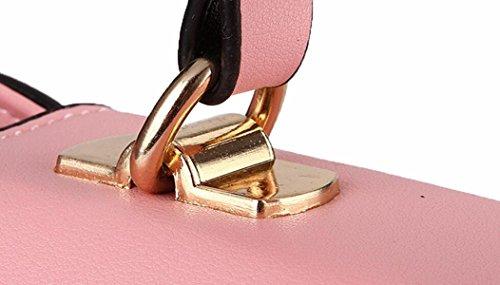 Borsa Della Signora Dolce Bowknot Fashion RoseRed