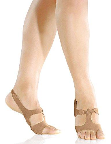 So Danca Lyrische Sandale, Leder tan