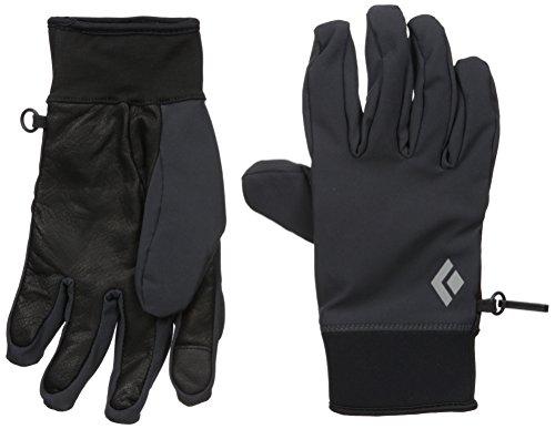 Black Diamond Midweight Softshell Handschuhe aus Stretch-Gewebe / Warme, Touchscreen-geeignete Fingerhandschuhe für Outdoor-Aktivitäten / Unisex, Smoke, Größe: M