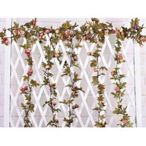 Nuovi 40pcs fiore doppio tessuto decorativo appliques artigianali festa di nozze A008 Brown