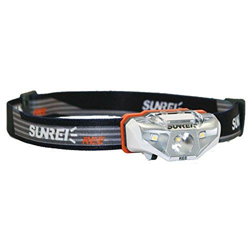 Sunree Stirnlampe Ree, Silber/Weiß, 0820103599610