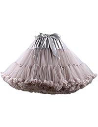 57461d798a4 Petticoat Mujer Ballet Fiesta Tul Tutu Años 50 Vintage Ropa Dama Moda  Fashionista Una Línea con
