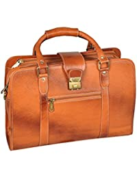 Hidekin - Eltanin Is One Of Our Most Eye-catching Tan Color Leather Laptop Bag.
