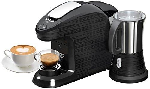 Hotpoint CM HM QBB0 Macchina per Caffe Espresso, 0.85 Litri, 19 Bar, 1300 Watt, Nero/Nero