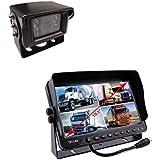 """Kit de visión trasera LCD - TFT 10,1"""" con parasol + cámara marcha atrás con CCD SONY"""