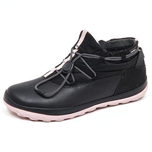 Camper D8706 (Without Box) Sneaker Donna Nero Scarpe Shoe Woman Nero/Rosa