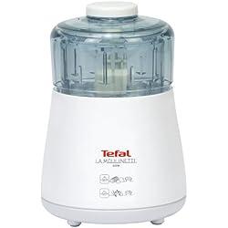 Tefal Moulinette Robot de cocina, 1000 Vatios, color blanco