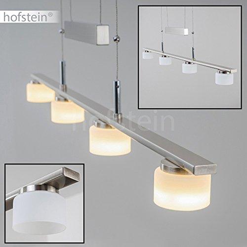 Pendelleuchte Aupaluk höhenverstellbare Hängelampe mit insgesamt 16,6 Watt Pendelampe mit warmweisses LED 3.000 Kelvin für Esstisch geeignet 1.540 Lumen