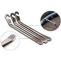 Igemy 3pcs incurvée en acier Pneu Pneu Levier Outil de réparation vélo outils Pneu de vélo outils de réparation