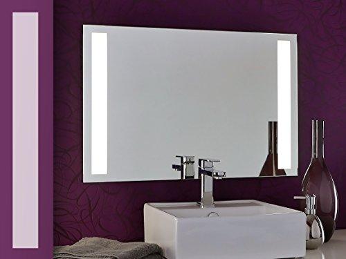 Bricode Süd® Badspiegel Tower II (C) in verschiedenen größen mit LED Beleuchtung 75cm x 50cm (breite x höhe) Neutralweiß