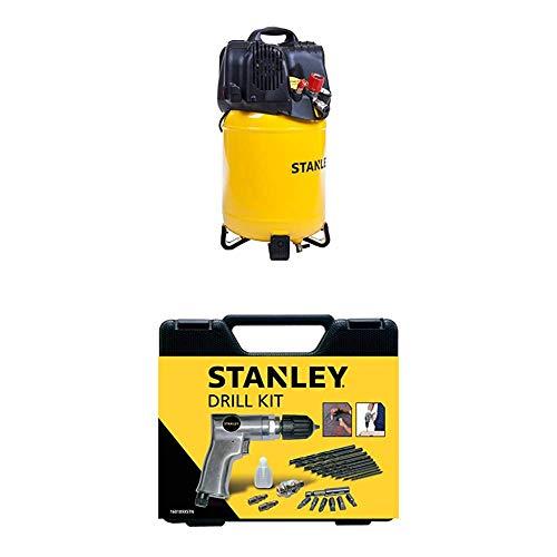 STANLEY Compressor D200/10/24V + Drill Kit