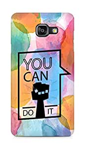 Amez You can Do It! Back Cover For Samsung Galaxy A5 2016