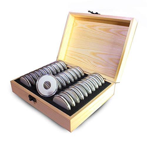 Caja De Almacenamiento De Monedas CÁPsulas Para Monedas(30Unidades) P