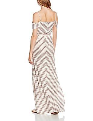 New Look Women's Hayley Stripe Cold Shoulder Dress