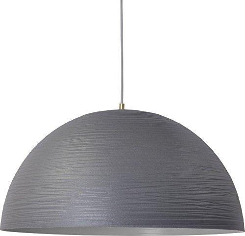 Design Hängelampe Grau XXL Schirm Ø60cm Premiumqualität Küche Esstisch Loft Industrie Pendelleuchte