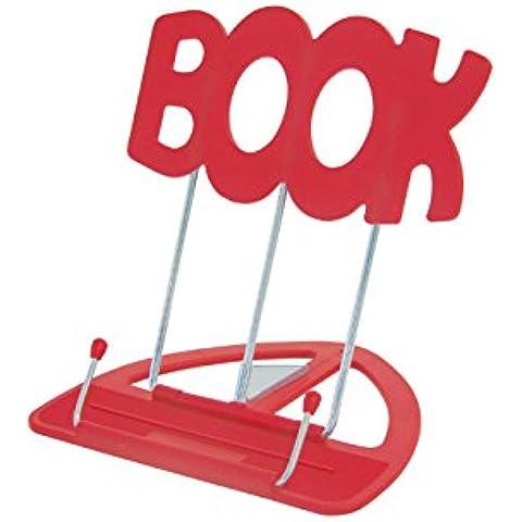 Wedo BOOK - Soporte para lectura, color rojo