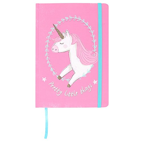 Something-Different-Unicorn-Notebook-Pink-Large