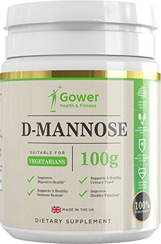 D Mannose Pure Powder – 100g | NO ADDITIVES | Naturally Supports Bladder Health & Urinary Infections – Packaged in the UK in ISO Licenced Facilities