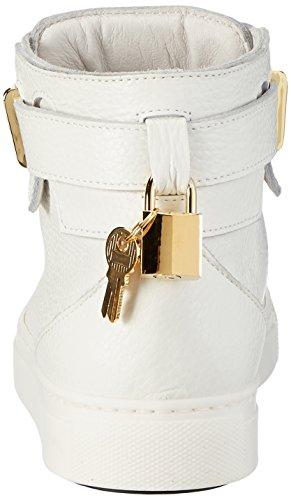 Stokton Damen 657-d Hohe Sneaker Weiß (Bianco)