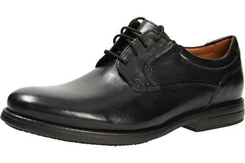 Clarks Shoes Hopton Walk Schwarz