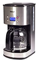 Igenix IG8250 10-Cup Digital Coffee Maker - Stainless Steel