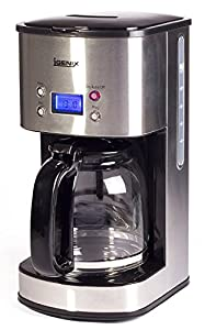 Igenix IG8250 10-Cup Digital Coffee Maker - Stainless Steel
