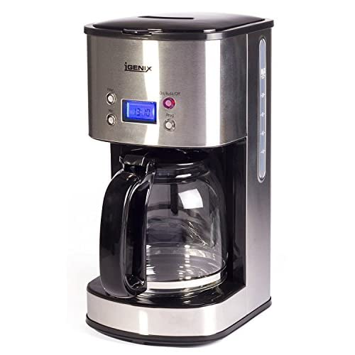 41HZM0MBx9L. SS500  - Igenix IG8250 Digital Filter Coffee Maker, 12 Cup Carafe, Automatic 24 Hour Timer and Keep Warm Function, Removable…