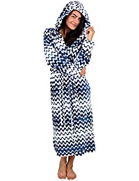 e3170ac1a6 CityComfort Luxury Ladies Dressing Gown Soft Plush Bath Robe for Women  Housecoat Loungewear Bathrobe