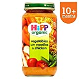 HiPP Bio-Growing Up Mahlzeit Nudeln mit Gemüse & Huhn 250g