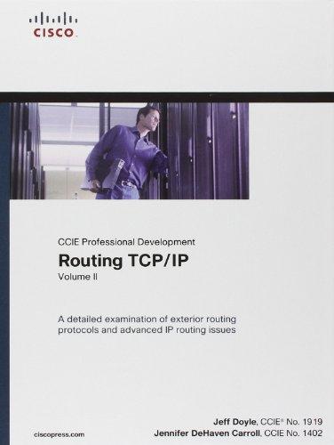 Routing TCP/IP (CCIE Professional Development): Volume 2 por Jeff Doyle, Jennifer DeHaven Carroll