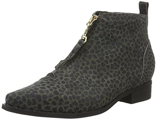Shoe The Bear Damen Anna Leo Kurzschaft Stiefel Grau (140 GREY)