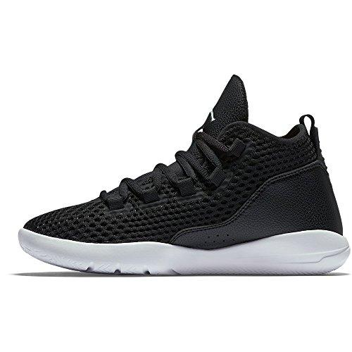 Nike Black / White-Black-White, Scarpe da Basket Bambino Nero (Negro (Black / White-Black-White))