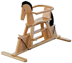 Geuther Stern Swinging Horse (Natural)