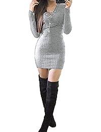 Vestidos al cuerpo cortos de invierno