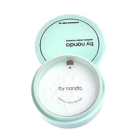 Poudre Blanche - Weisy Maquillage Poudre de Finition Respirante Fond