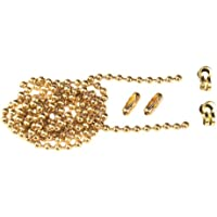 FAITHFULL Brass Ball Chain Kit 1m Polish- Brass