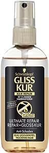 Gliss ultime réparation et traitement Gloss Hair-spa 100ml